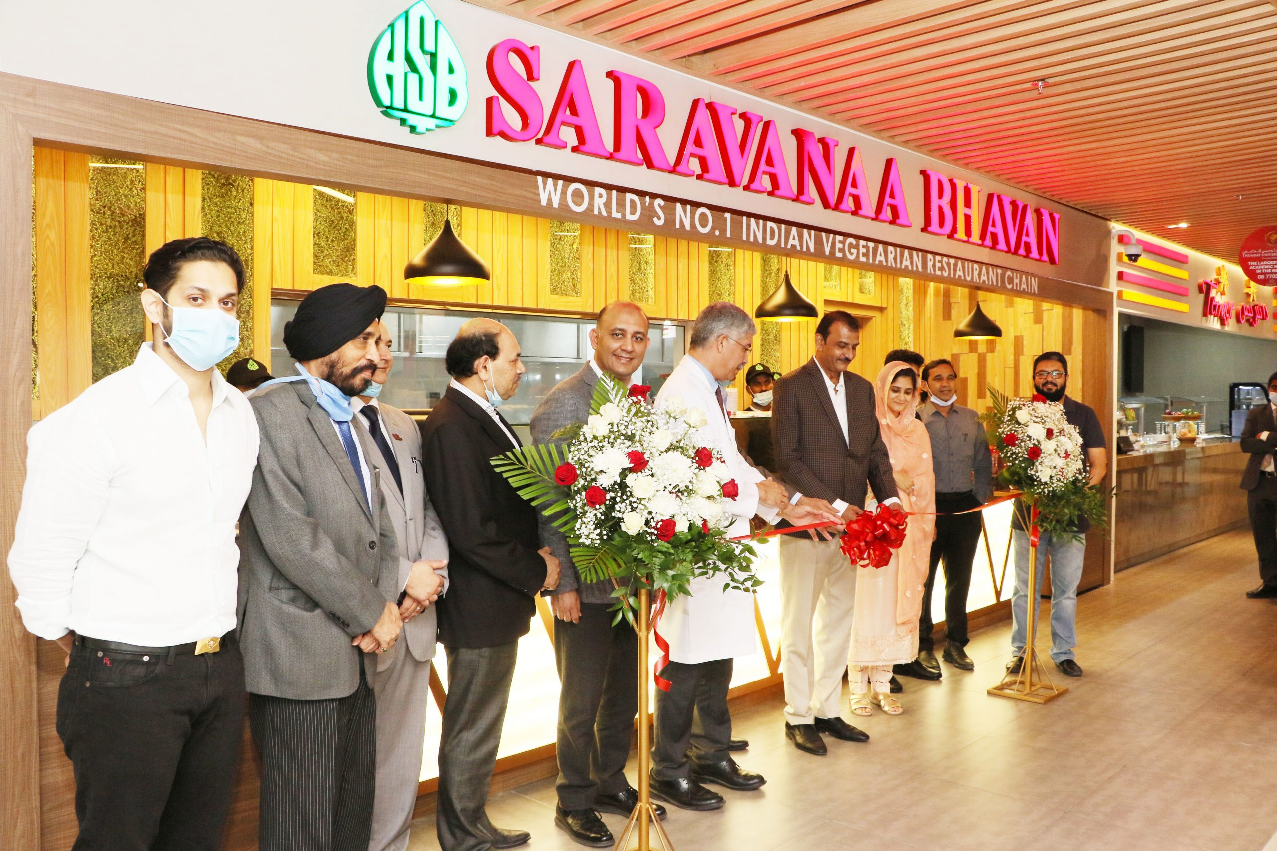 Renowned Indian Vegetarian Restaurant Chain Saravanaa Bhavan Opens Outlet in Thumbay Food Court at Thumbay Medicity Ajman
