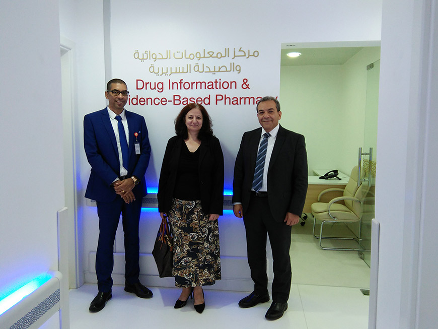 Center for Drug Information and Evidence-Based Pharmacy to boost Pharmacy Education