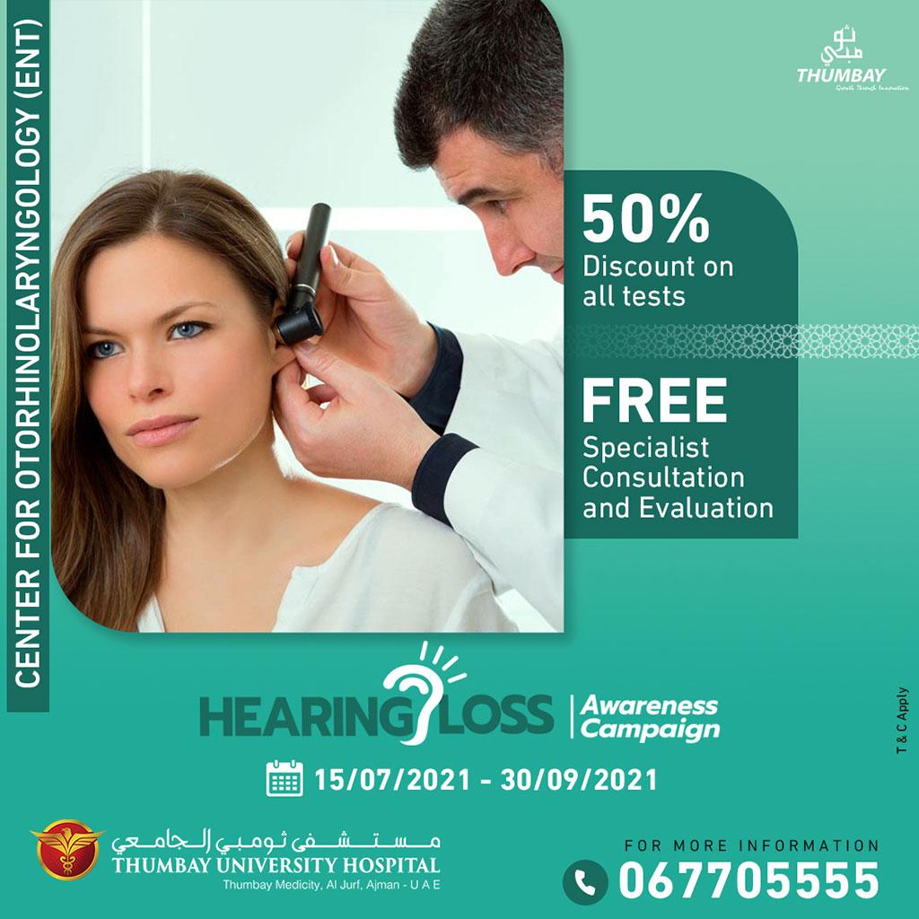 Hearing Loss Awareness Campaign